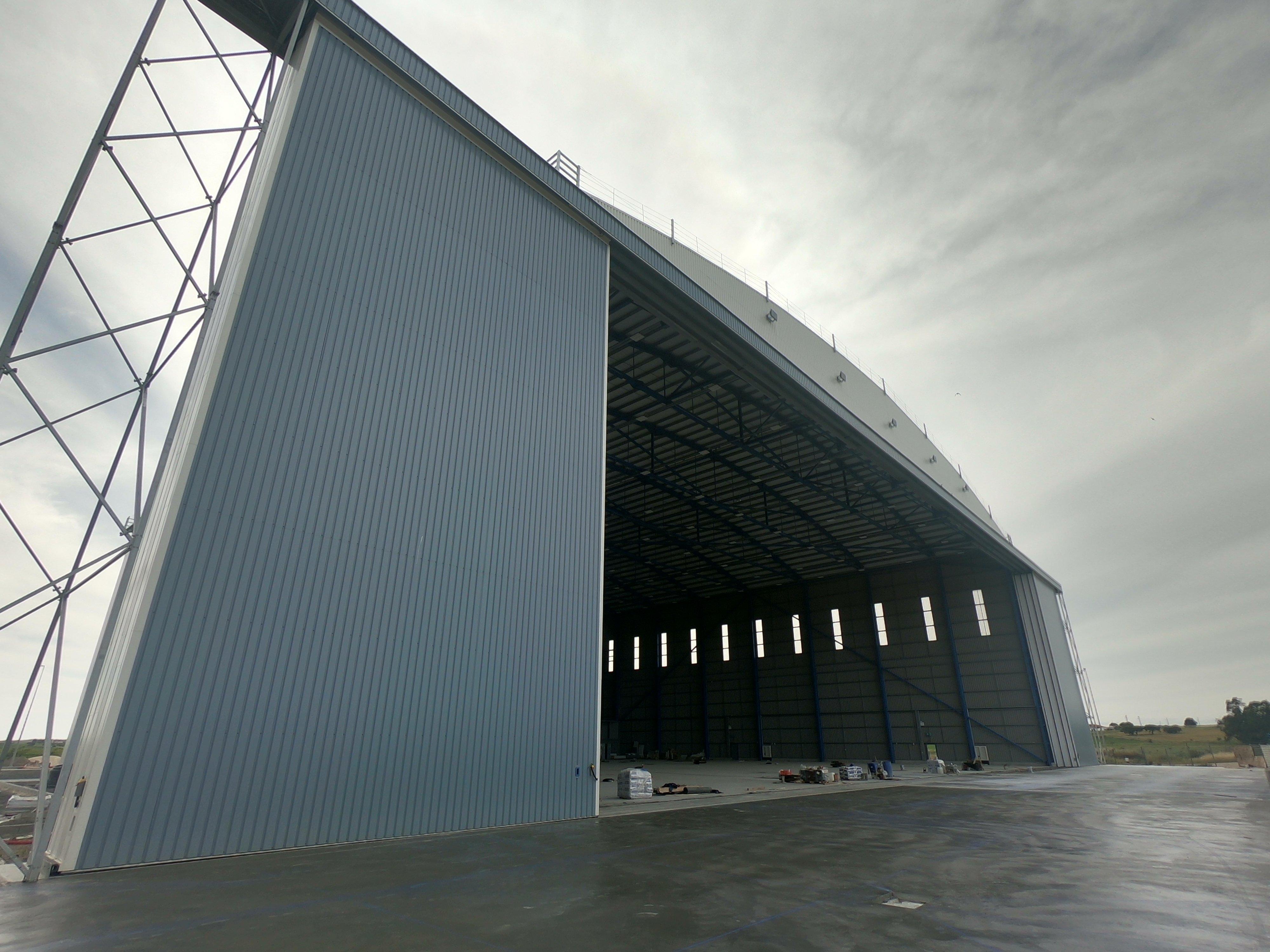 Mesa new hangar is growing fast