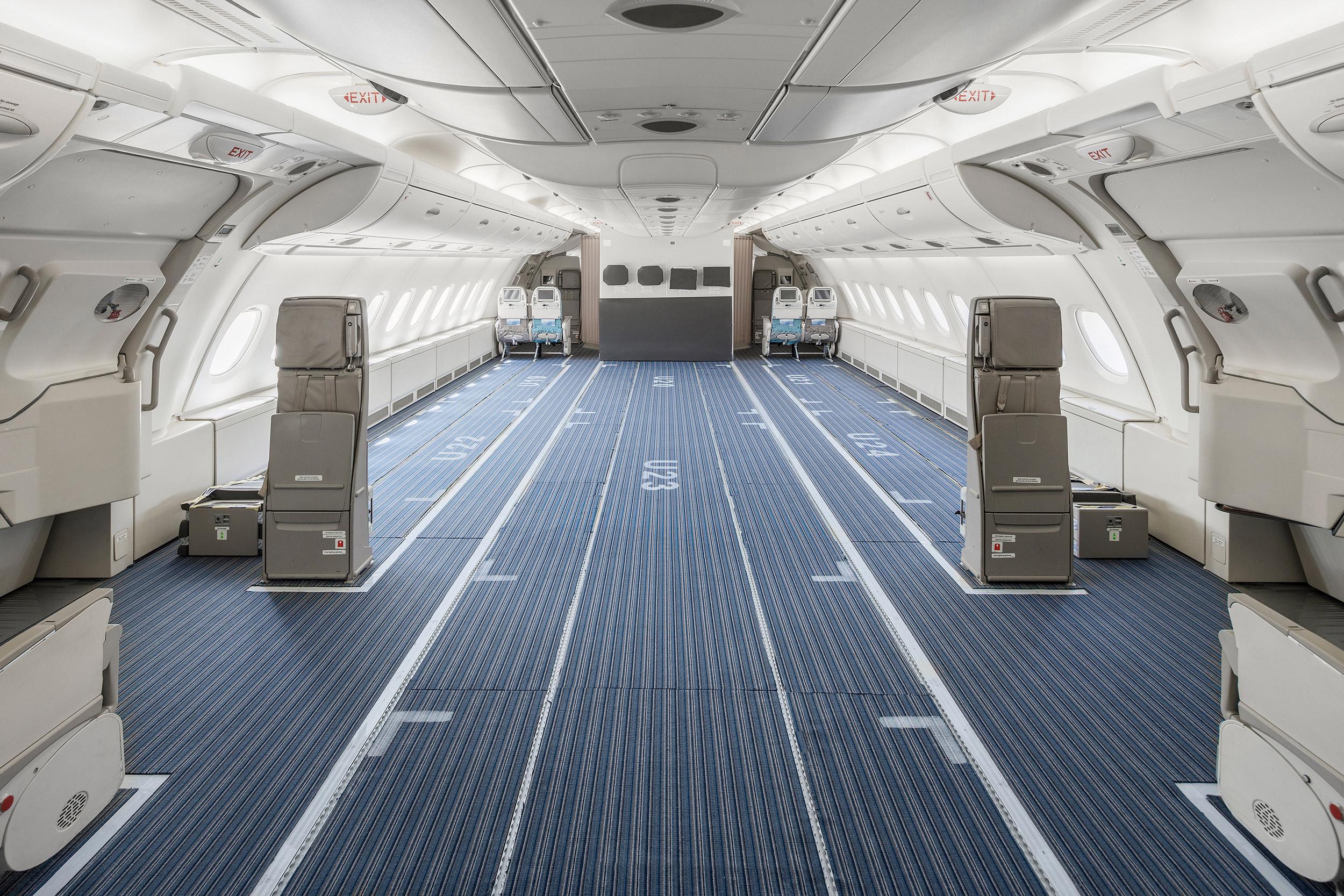 A380 Cabin Modification