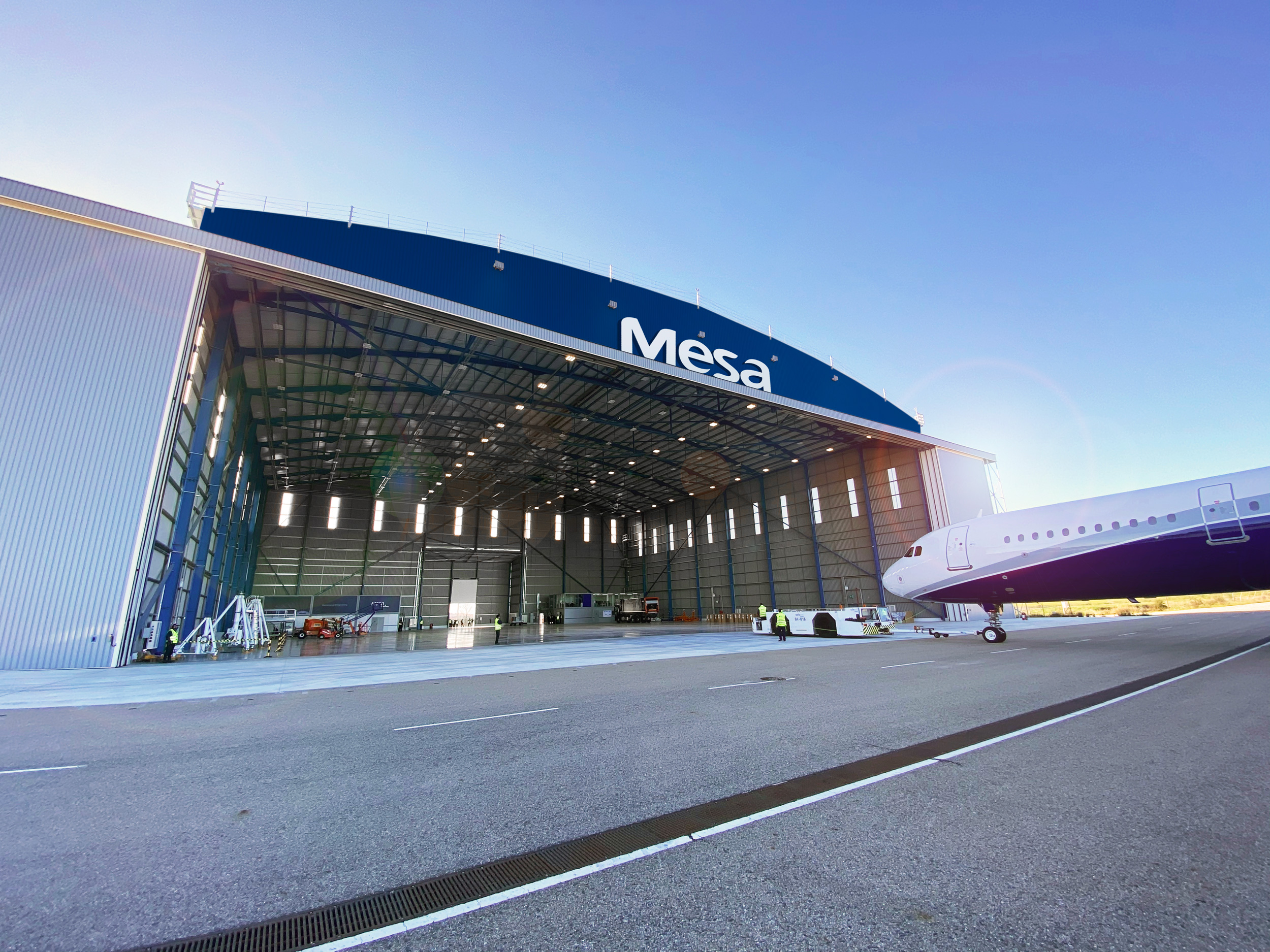New Maintenance Hangar